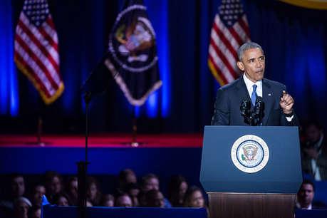 अंतिम विदाई से पहले ओबामा ने अमेरिकियों को दिया भरोसा, 'सब ठीक होगा'