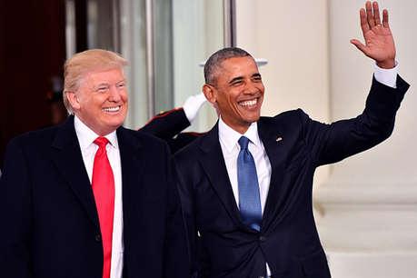 व्हाइट हाउस से विदा लेने से पहले ओबामा और मिशेल ने कार्यकाल का किया आखिरी ट्वीट