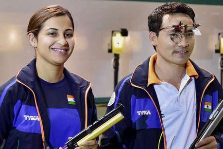 वर्ल्ड कप: जीतू राय-हिना सिद्धू ने 10 मी एयर पिस्टल में जीता गोल्ड