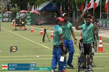 एशिया कप: तीरंदाजों ने साधा स्वर्ण पर निशाना, ईरान को हराया