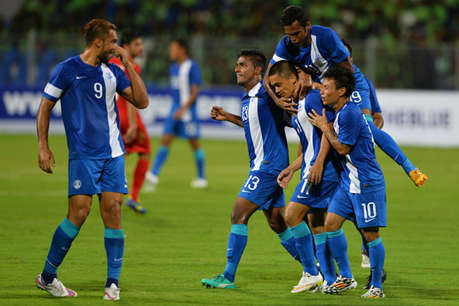 कंबोडिया के खिलाफ खुद को परखने उतरेगी भारतीय फुटबॉल टीम