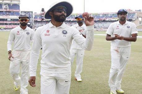 टीम इंडिया के 603 रन, दूसरी पारी में ऑस्ट्रेलिया की हालत खराब