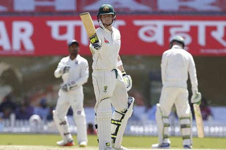 IND vs AUS: स्टीवन स्मिथ की कप्तानी पारी, ऑस्ट्रेलिया ने पहले दिन बनाए 299/4 रन