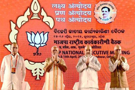 बीजेपी राष्ट्रीय कार्यकारिणी: मोदी ही करेंगे लीड, मुस्लिमों में बढ़ाएंगे आधार