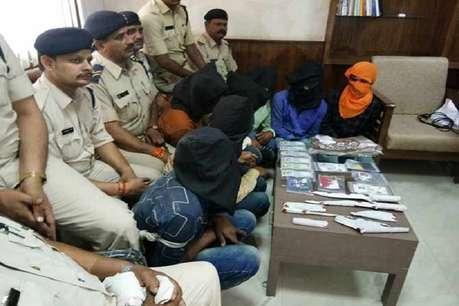 सीआरपीएफ कांस्टेबल की पत्नी को चलती ट्रेन से फेंका, 5 गिरफ्तार