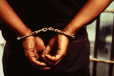 हथियार के साथ पांच पीएलएफआई नक्सली गिरफ्तार