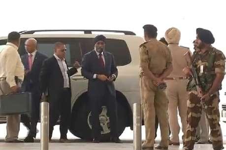 कनाडा के रक्षा मंत्री हरजीत सिंह सज्जन ने की सीएम खट्टर से मुलाकात, निवेश को लेकर हुई चर्चा