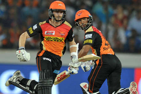 IPL-10: विलियमसन-धवन की धमाकेदार पारी के आगे दिल्ली हुई फेल, हैदराबाद जीता