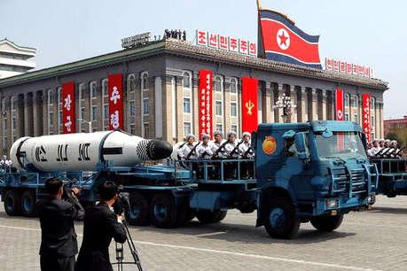 नॉर्थ कोरिया का मिसाइल परीक्षण असफल, आसमान में ही हुआ ब्लास्ट