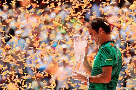 मियामी ओपन: नडाल को हराकर फेडरर ने जीता साल का तीसरा खिताब