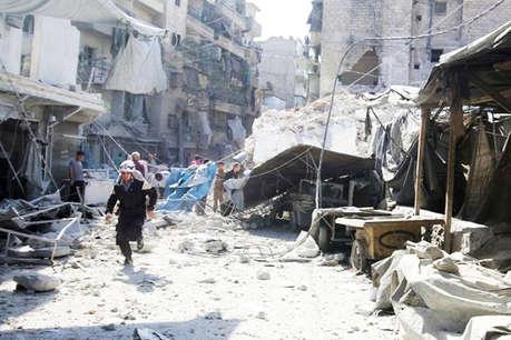 सीरिया के अलेप्पो में कार से सुसाइड अटैक, मारे गए 43 लोग