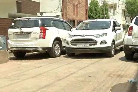 रायपुर के विधायक का लकी नंबर, परिवार में 3232 नंबर की 20 गाड़ियां