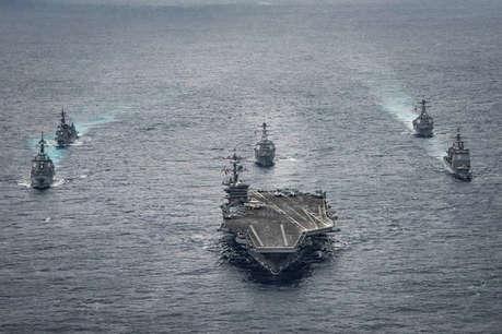अमेरिका ने नॉर्थ कोरिया रवाना किया अपना दूसरा जंगी बेड़ा