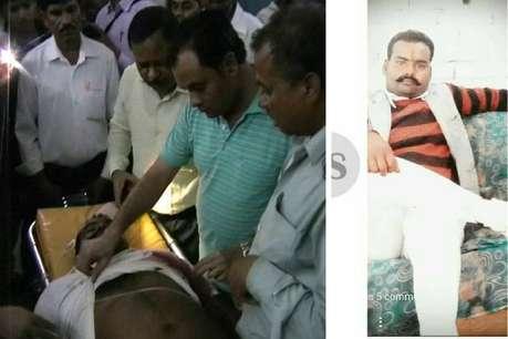 हत्या में आरोपी सपा सभासद रविंद्र सिंह की गोली मारकर हत्या