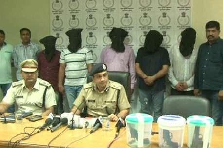 गुरुग्राम पुलिस को बड़ी कामयाबी, 5 इनामी बदमाशों को किया गिरफ्तार