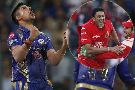 VIDEO: 4 ओवर में 16 रन पर 4 विकेट, कर्ण शर्मा ने ऐसे की कुंबले के रिकॉर्ड की बराबरी