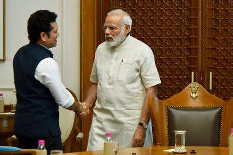 फिल्म रिलीज़ से पहले पीएम मोदी से मिले सचिन तेंदुलकर, पोस्ट की तस्वीरें