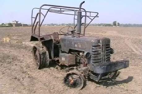 कैथल: किसान के गोदाम में लगी आग, लाखों का सामान जलकर राख