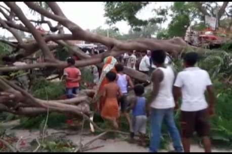 बिहार में आंधी-पानी ने मचायी भारी तबाही, पंद्रह लोगों की गई जान