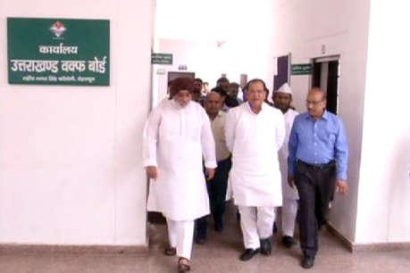 देहरादून: विभागीय मंत्री यशपाल आर्य ने किया अल्पसंख्यक कल्याण भवन का दौरा