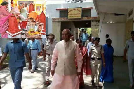 राजसत्ता की देवी के मंदिर आए थे रामनाथ कोविंद, 10 दिन बाद बने राष्ट्रपति उम्मीदवार