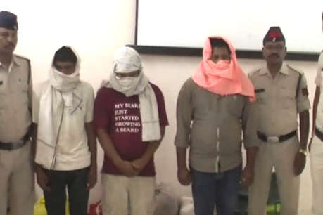 अंधे कत्ल और लूट का पर्दाफाश, तीन आरोपी गिरफ्तार