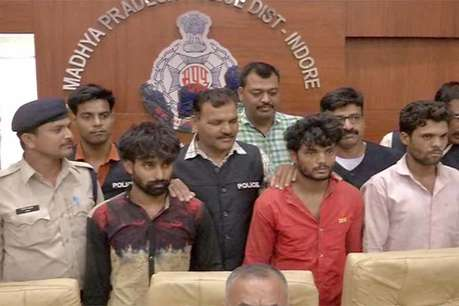 इंदौर क्राइम ब्रांच ने पकड़ी अंतरराज्यीय वाहन चोर गैंग