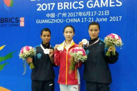 ब्रिक्स खेलों में भारतीय वुशु टीम ने जीते छह मेडल्स