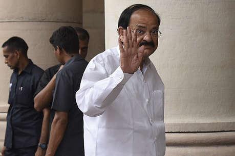 उपराष्ट्रपति चुनावः वेंकैया-गांधी ने दाख़िल किया नामांकन, नायडू ने पार्टी को बताया 'मां'