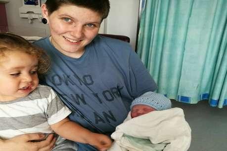 ब्रिटेन में पहली बार एक पुरुष ने दिया बेटी को जन्म!