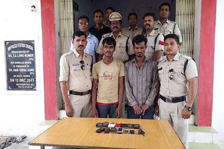 आईएमईआई नंबर से पकड़े गए मोबाइल चोरी के दो आरोपी