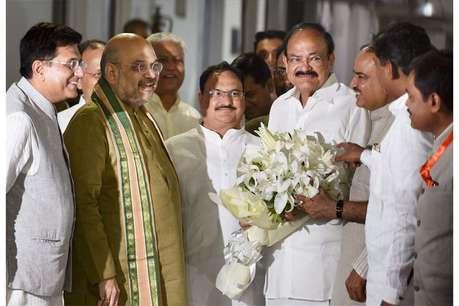 वेंकैया नायडू: 'संकटमोचक' के जरिए दक्षिण में पैठ बनाना चाहती है BJP