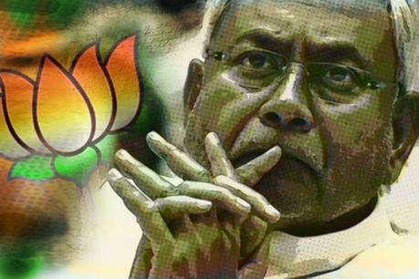 BJP ने नीतीश कुमार को बिना शर्त समर्थन देने का किया ऐलान