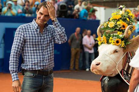 FACTS: पहला WIMBLEDON जीतने पर फेडरर को मिली थी गाय
