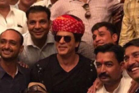 रील जिंदगी के बाद रियल में शाहरुख बने गाइड, जोधपुर में किया फिल्म का प्रमोशन