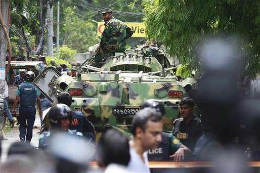 ढाका में सेना का ऑपरेशन खत्म, 13 बंधक छुड़ाए, 6 आतंकी ढेर