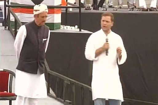 मिशन यूपी से पहले कांग्रेस कार्यकर्ताओं को 'राहुल मंत्र', पीएम मोदी रहे निशाने पर