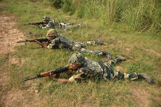 सीजफायर तोड़ने पर भारतीय सेना ने की गोलियों की बौछार, सात पाक रेंजर ढेर