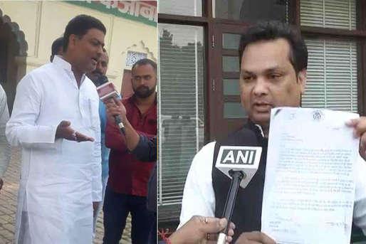 शिवपाल ने मंत्री पवन पांडे को पार्टी से किया बर्खास्त, आशु मलिक को पीटा था