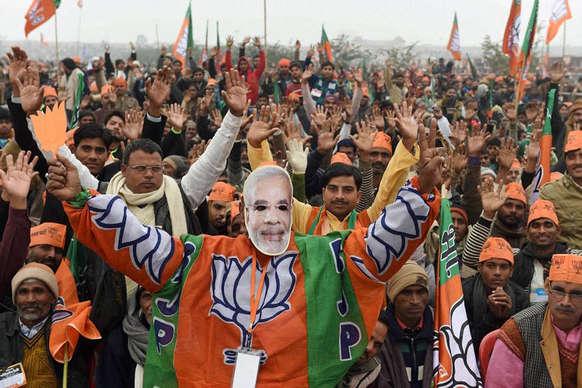 बीएमसी चुनाव में मिली जीत से भाजपा गदगद, कहा- जनता ने नोटबंदी का वोट देकर किया सपोर्ट
