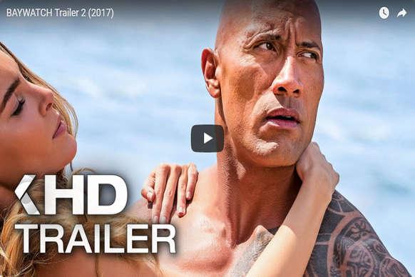 प्रियंका चोपड़ा की हॉलीवुड डेब्यू फिल्म 'बेवॉच' का ट्रेलर रिलीज