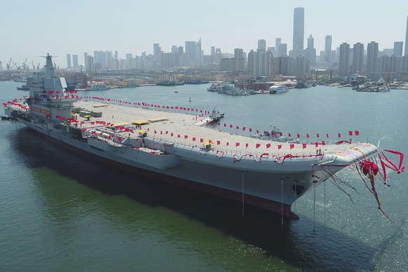 चीन ने बढ़ाई समुद्री ताकत, लॉन्च किया स्वदेशी एयरक्राफ्ट कैरियर