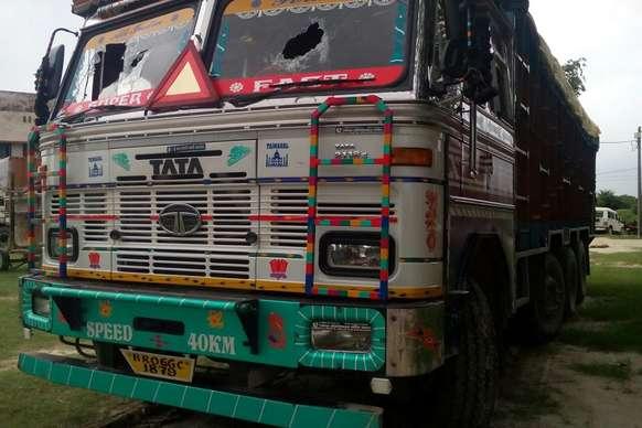 यूपी से ट्रक लूट कर भाग रहे लुटेरों को बिहार पुलिस ने किया गिरफ्तार