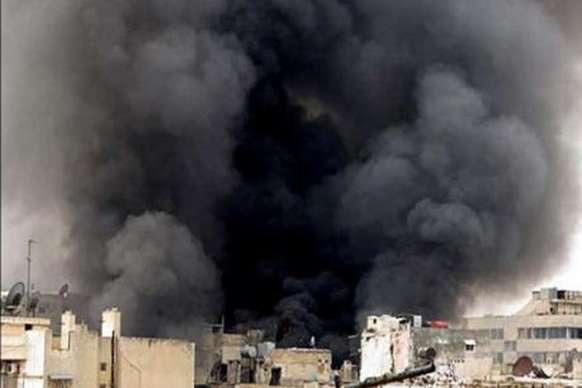 सीरिया में विस्फोट, 50 आतंकवादी मरे