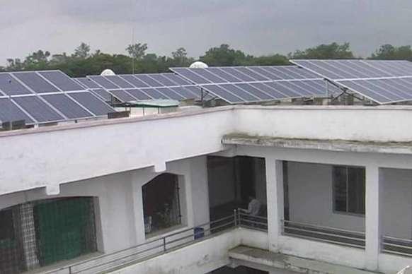 यह है मध्य प्रदेश का पहला सौर ऊर्जा से जगमगाने वाला सरकारी आॅॅफिस