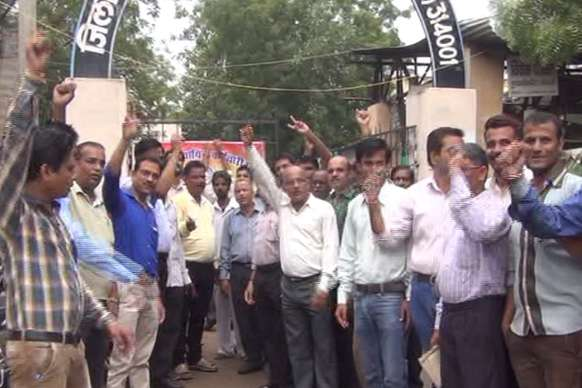 राजस्थान में न्यायिक कर्मचारी संघ का आंदोलन जारी