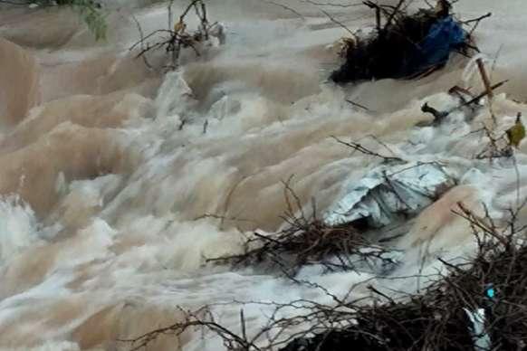 भारी बारिश से रामदेवरा में पानी ही पानी
