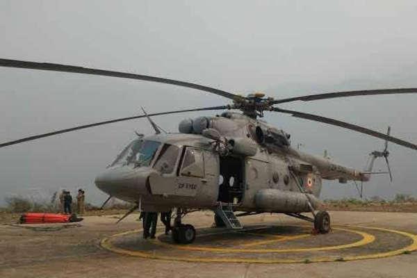 सुकमा हमला: सीआरपीएफ जवानों के लिए फरिश्ता बना एमआई-17 हेलिकॉप्टर