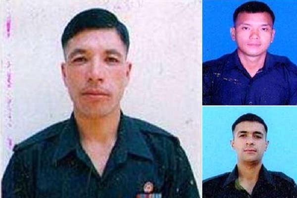 जम्मू-कश्मीर में शहीद हुए जवानों के पार्थिव शरीर बुधवार को लाए जाएंगे सोलन
