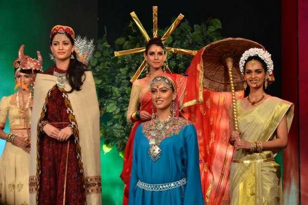जब 'फेमिना मिस इंडिया' की प्रतिभागियों ने करवाई देश की सैर!